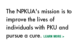 Mission to improve the lives of people with PKU